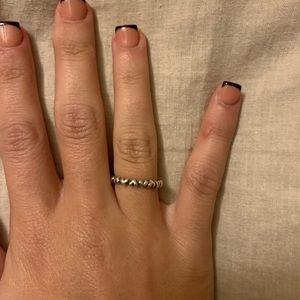 Pandora Heart Stackable Ring